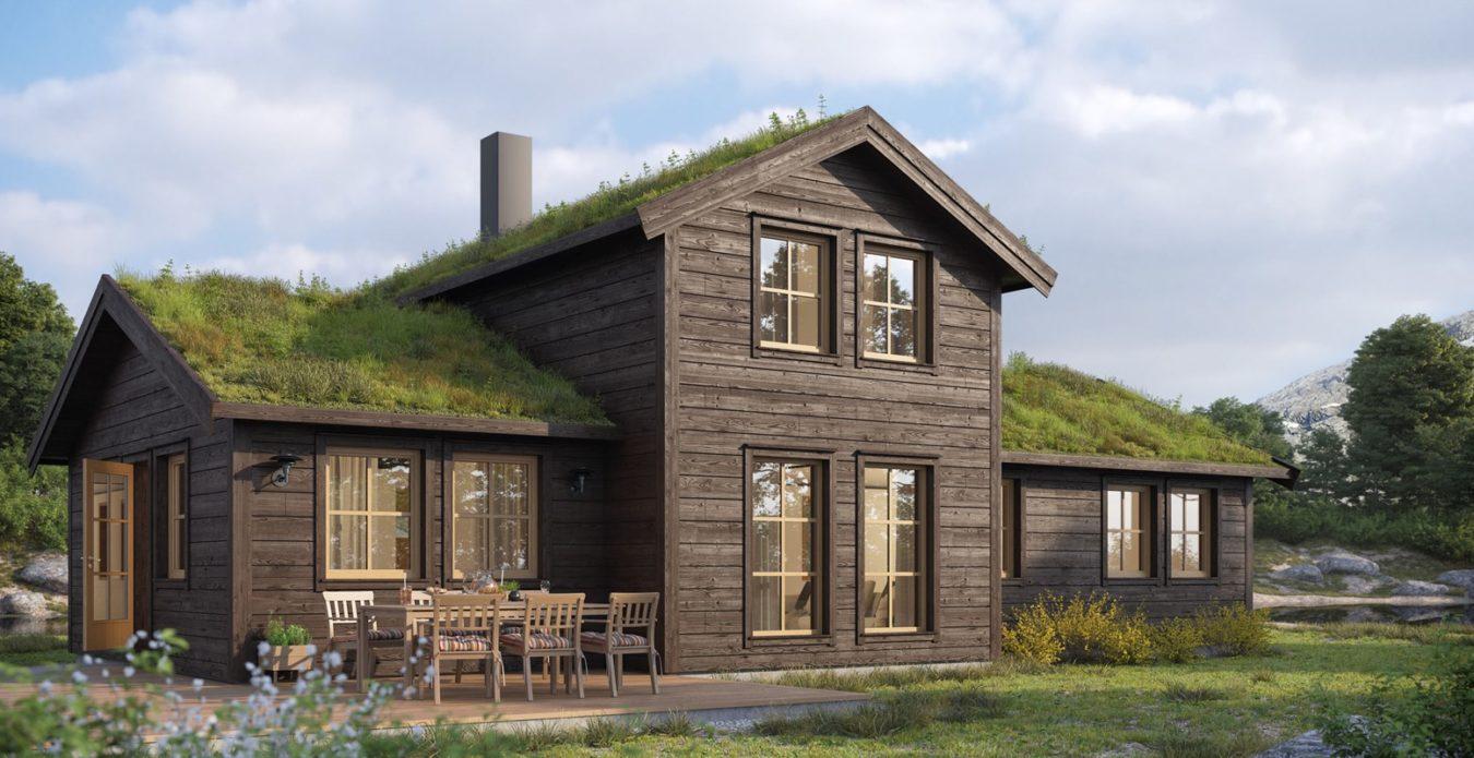 Oppstugu er en hytte fra Systemhus som våre forhandlere over hele landet kan bygge for deg. Bestselger som går igjen og igjen, mange soveplasser, badstue og stor loftstue for hele familien. En skikkelig familiehytte.